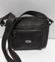 MANUAL torba prirodna 100%koža 21x20cm