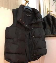 Zara oversized puffer prsluk