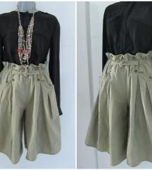 Visokog struka  suknja/pantalone sa dzepovima REZ.