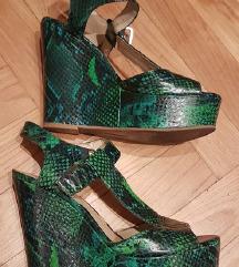 INC International concept snake print sandale