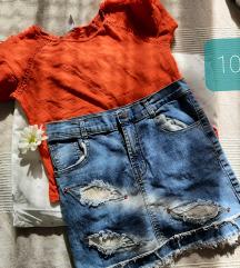 Majica i suknja 140