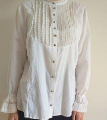 Čipkasta vintage košulja