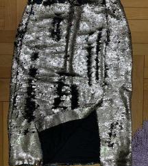 Suknja sa krljustima