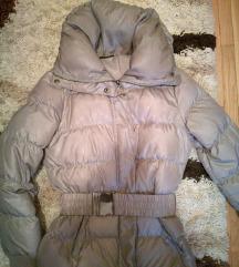 Sisley siva zimska jakna