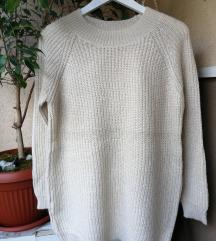 Rasprodaja na profilu - krem džemperak Promod
