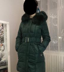 Zelena zimska jakna