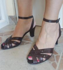 ALESSANDRO BONCIOLINI Italy kozne braon sandale