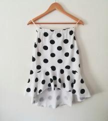 Nova pamucna suknja sa karnerom