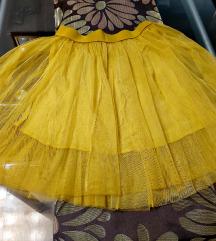 Oker suknja