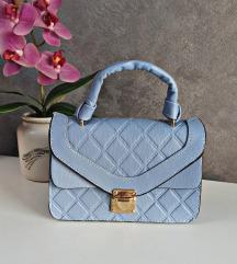 Nova svetlo plava torba