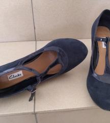 Kozne cipele, salonke, Clarks,37, nove