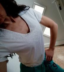 Ženstvena majica, bela