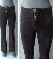 pantalone braon antilop koža 36 CLOTHES by H&M