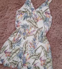 H&M cvetna haljinica s.m