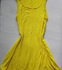 TERRANOVA žuta letnja haljinica