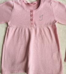 Oviesse bebi roze džemper 3-4 god