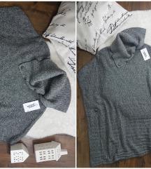 Italy * onesize * knit ponco NOVO