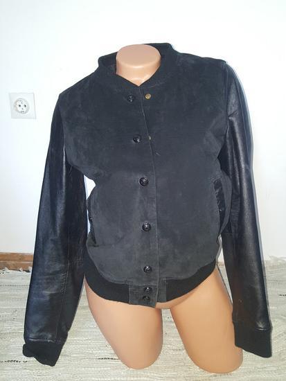 Mango prava Kozna jaknica S
