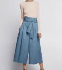 ZARA široke pantalone