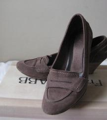 Kožne cipele sa štiklom