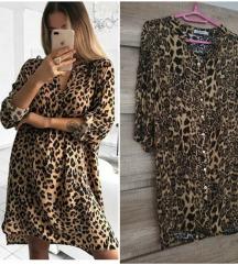 NOVA leopard tunika/haljina/kosulja
