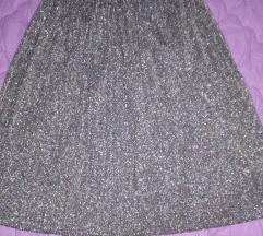 Plisirana suknja novo