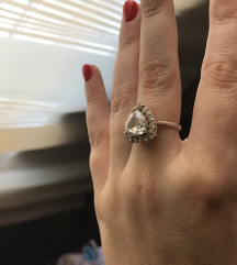Srebro prsten