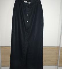Duga suknja sa dugmicima/Snizeno +poklon