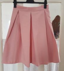 Nova suknja sa faltnama