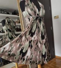 Svilena haljina xs