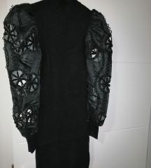 SNIZENO Crna haljina univerzalna