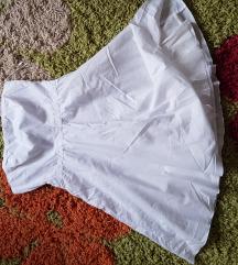 H&M bela haljina NOVO!