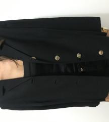 Vintage crni kratki sako