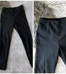 H&M Crne duboke pantalone