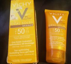 Vichy ideal soleil 50+ fluid za lice