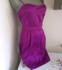 Forever 21 ljubicasta haljina M