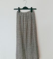 Pletena končana suknja jesen/zima