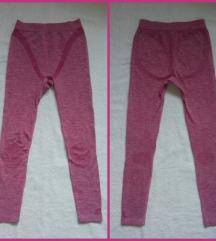 Roze helanke za fitnes/aktivni ves