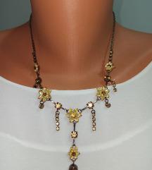 Žuta ogrlica NOVO