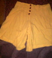 ❤️žuti šorts suknja-BEZUSLOVAN POKLON❤️
