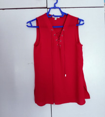 Nova prelepa crvena Koton bluza XS