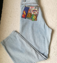 Mom jeans retro farmerke