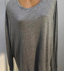 H&M siva bluza,vel.4XL,Nova