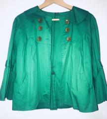 Zeleni sako jakna
