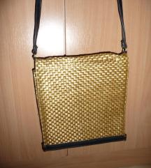 zlatna tasna pletena