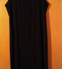 Crna duga haljina xl/xxl-SNIŽENO