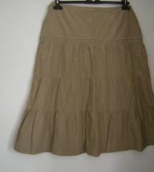 S Oliver  drap - metalize suknja