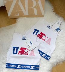 Zara crop top NOV sa etiketom