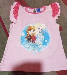 Frozen DISNEY Elsa i Anna majica 8-9