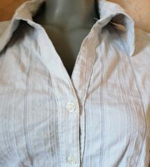 Bela košulja sa prugicama SNIŽENO